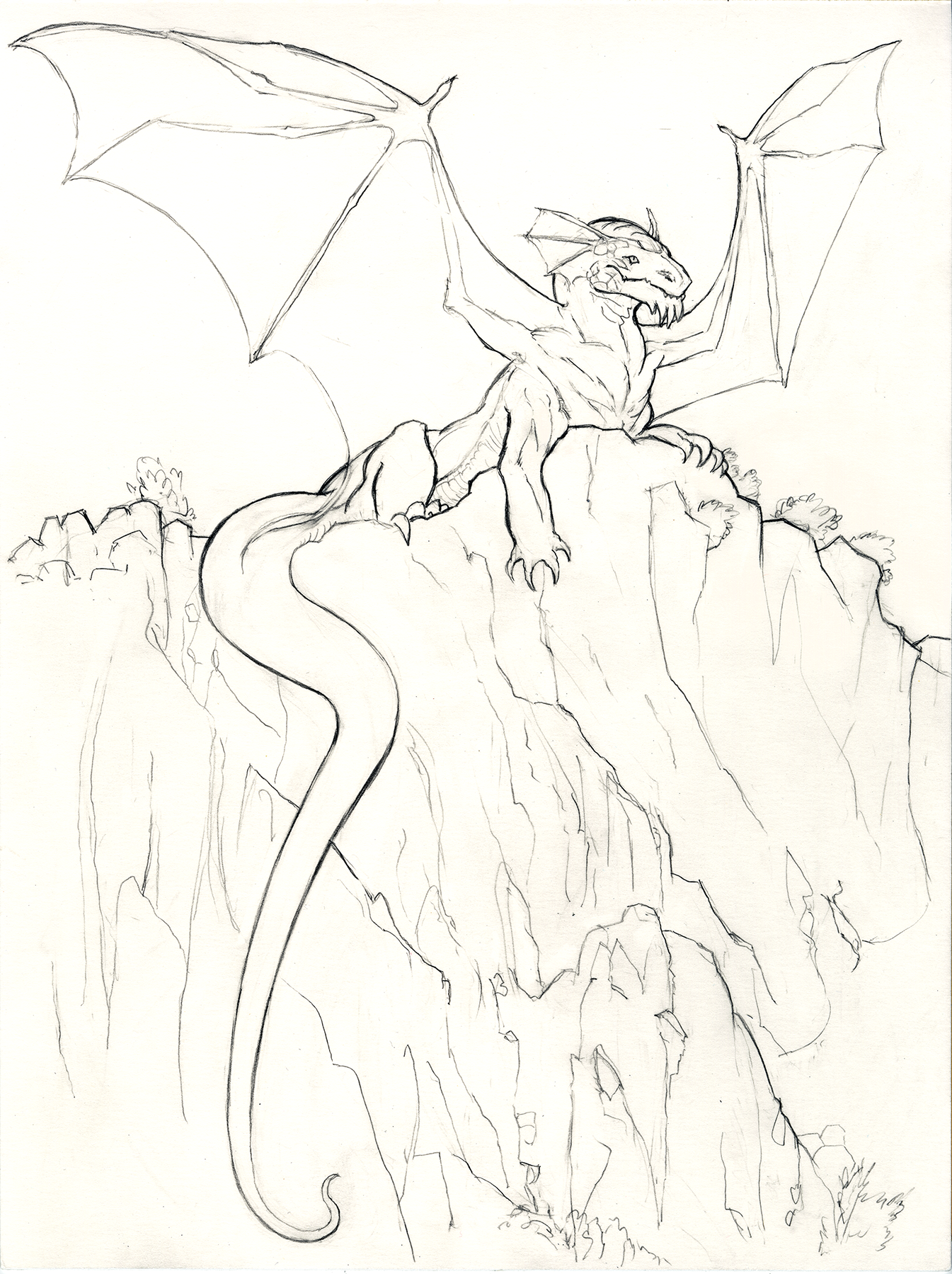 Dragon in Bandelier Park