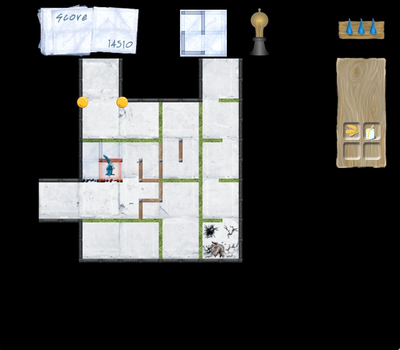 Daedalus tutorial level