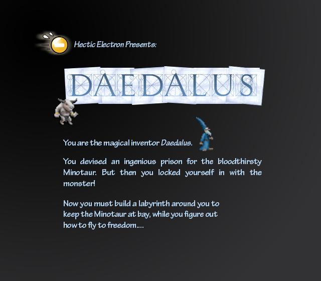 Daedalus intro screen